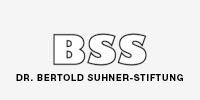 Logo der Dr. Bertold Suhner-Stiftung, welche als Sponsor für den Verein Naturschule St. Gallen auftritt.