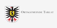 Logo der Ortsgemeinde Tablat, die als Sponsorin für den Verein Naturschule St. Gallen auftritt.