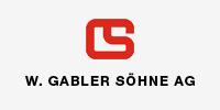 Logo der Gabler Söhne AG, die den Verein Naturschule St. Gallen als Sponsor unterstützt.